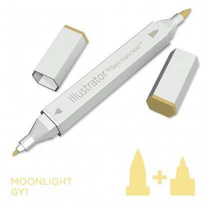 Spectrum noir Illustrator pen GY1 - Moonlight