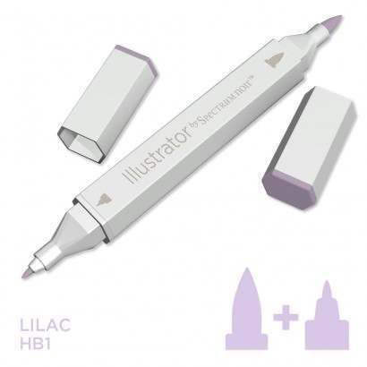 Spectrum noir Illustrator pen HB1 - Lilac