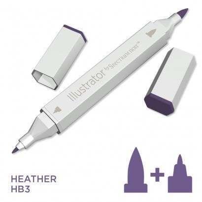 Spectrum noir Illustrator pen HB3 - Heather
