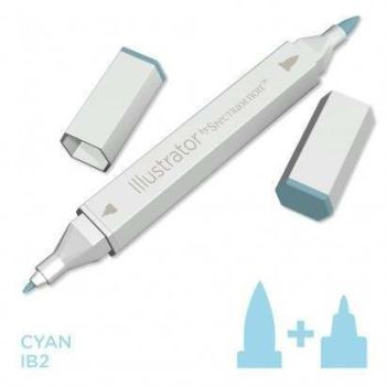 Spectrum noir Illustrator pen IB2 - Cyan