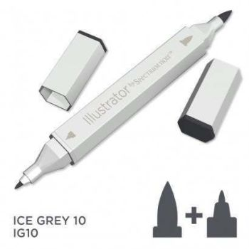Spectrum noir Illustrator pen IG10 - Ice Grey 10