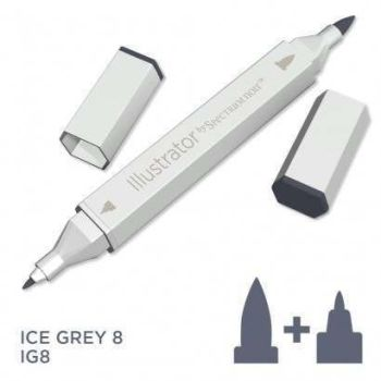 Spectrum noir Illustrator pen IG8 - Ice Grey 8