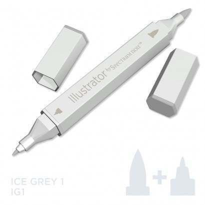 Spectrum noir Illustrator pen IG1 - Ice Grey 1