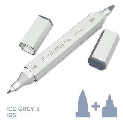 Spectrum noir Illustrator pen IG5 - Ice Grey 5