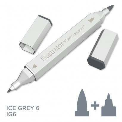 Spectrum noir Illustrator pen IG6 - Ice Grey 6