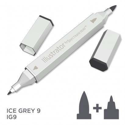 Spectrum noir Illustrator pen IG9 - Ice Grey 9