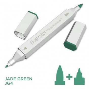 Spectrum noir Illustrator pen JG4 - Jade Green
