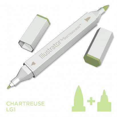 Spectrum noir Illustrator pen LG1 - Chartreuse