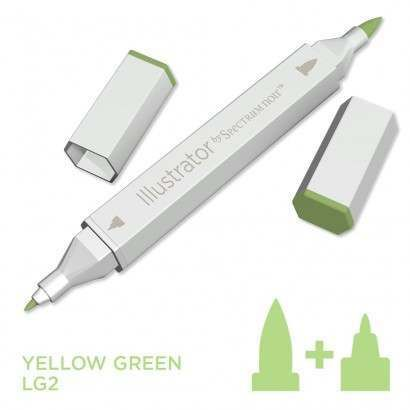 Spectrum noir Illustrator pen LG2 - Yellow Green