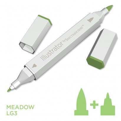 Spectrum noir Illustrator pen LG3 - Meadow