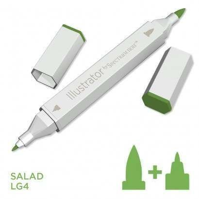 Spectrum noir Illustrator pen LG4 - Salad