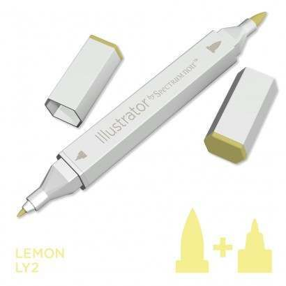 Spectrum noir Illustrator pen LY2 - Lemon