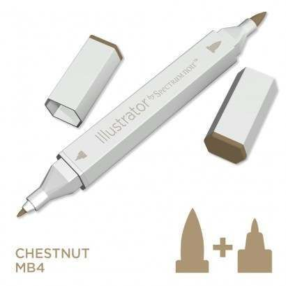 Spectrum noir Illustrator pen MB4 - Chestnut