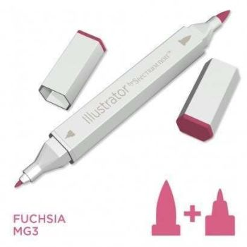Spectrum noir Illustrator pen MG3 - Fuchsia