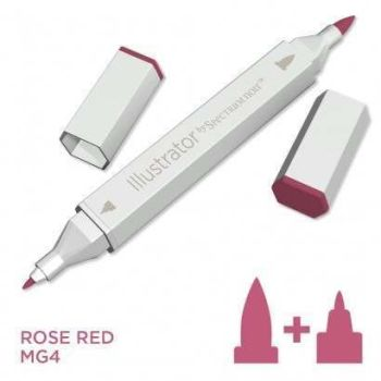 Spectrum noir Illustrator pen MG4 - Rose Red