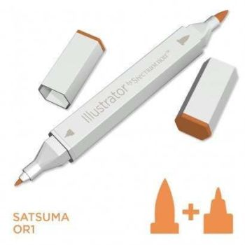 Spectrum noir Illustrator pen OR1 - Satsuma