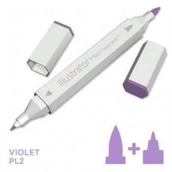 Spectrum noir Illustrator pen PL2 - Violet