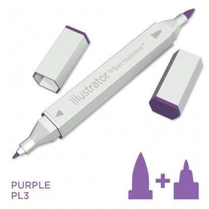 Spectrum noir Illustrator pen PL3 - Purple