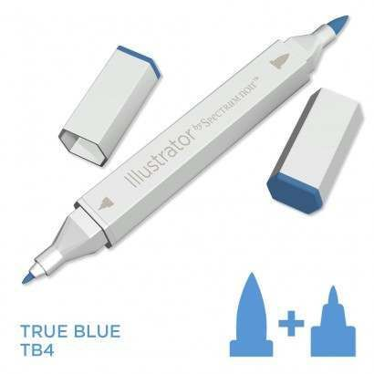 Spectrum noir Illustrator pen TB4 - True Blue