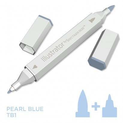Spectrum noir Illustrator pen TB1 - Pearl Blue