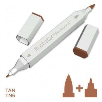 Spectrum noir Illustrator pen TN6 - Tan