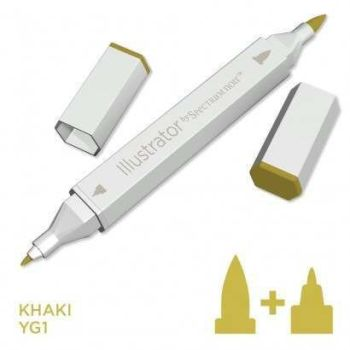 Spectrum noir Illustrator pen YG1 - Khaki