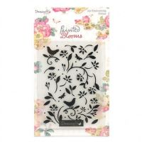 Painted Blooms Embossing Folder