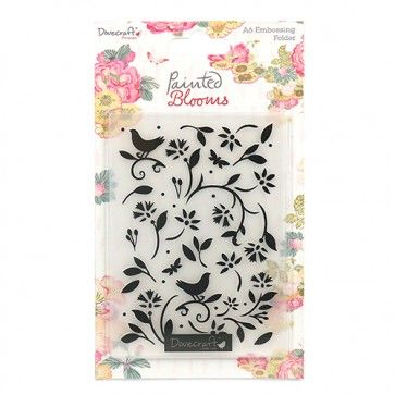 Painted Blooms Embossing Folder
