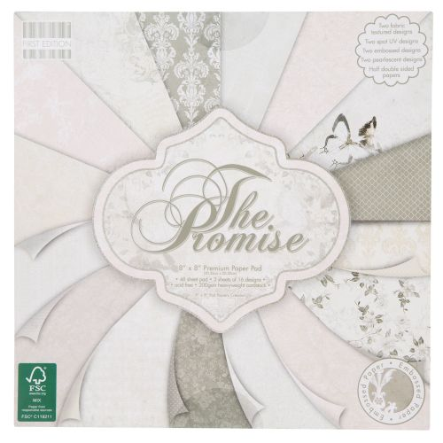 First Edition 6x6 FSC Paper Pad The promise