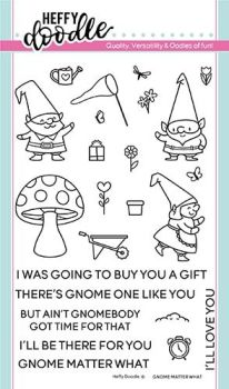 **NEW** Heffy Doodle - Gnome matter what stamps