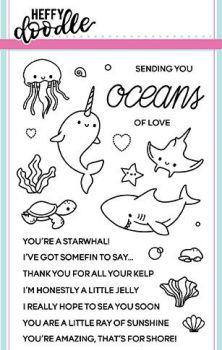 Heffy Doodle - Oceans of love stamps