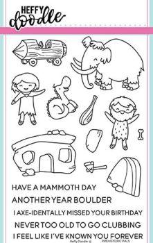 Heffy Doodle - Prehistoric Pals stamps