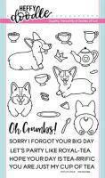 Heffy Doodle - Oh crumbs clear stamps