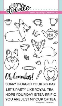 **NEW** Heffy Doodle - Oh crumbs clear stamps