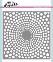 Heffy Doodle - Circles of life stencil