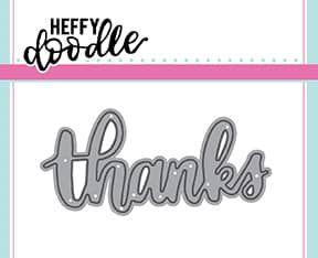 Heffy Doodle Thanks dies