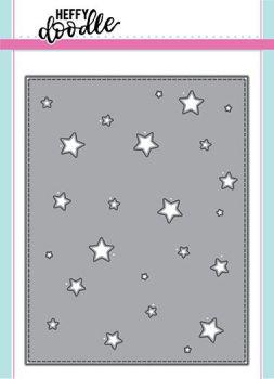 Heffy Doodle - Stargazer backdrop dies