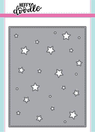 Heffy Doodle Stargazer backdrop dies