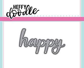 Heffy Doodle Happy die