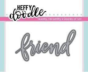 Heffy Doodle Friend word die