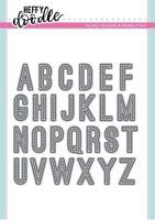 Heffy Doodle - Stitched Alphabetters dies