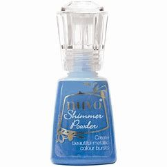 Nuvo - Shimmer Powder - Blue Blitz