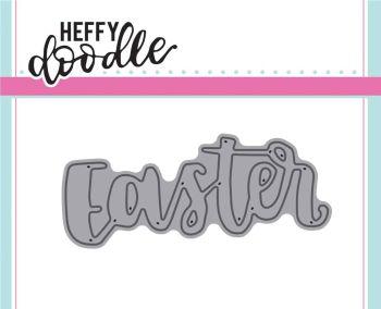 Heffy Doodle Easter word die