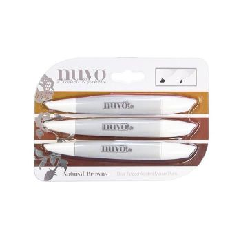 Nuvo - Marker Pen Collection - Natural Browns