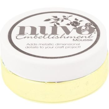 Nuvo - Embellishment Mousse - Custard Cream