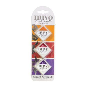 Nuvo - Diamond Hybrid Ink Pads - Sunset Serenade