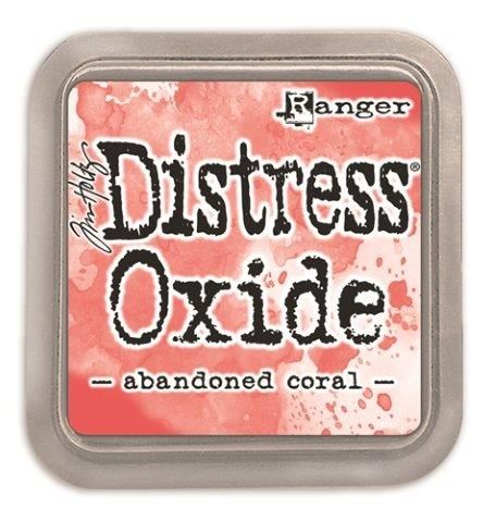 Tim Holtz Distress Oxide Pads Abandoned Coral