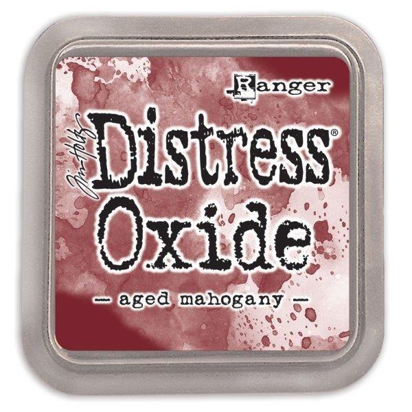 Tim Holtz Distress Oxide Pads Aged Mahogany