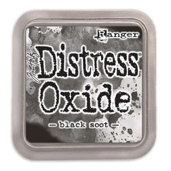 Tim Holtz Distress Oxide Pad Black Soot