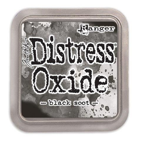 Tim Holtz Distress Oxide Pads Black Soot